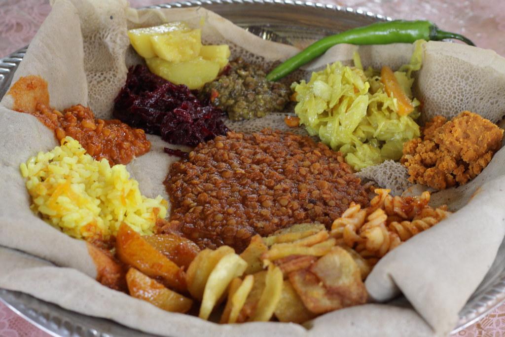 Ethopian food
