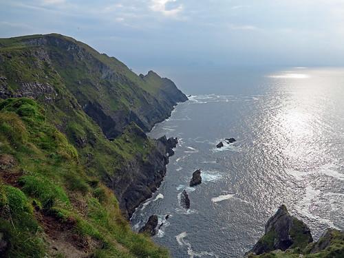 Spectaular Cliffs near Portmagee Ireland
