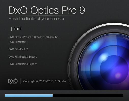 DxO Optics Pro 9