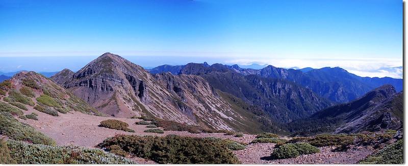 聖稜線(From 雪山頂) 1