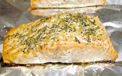 Rosemary-Garlic Salmon