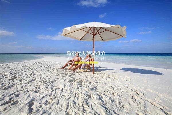美禄岛(Meeru Island Resort)拖尾沙滩