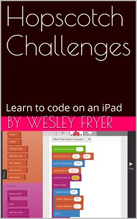 Hopscotch Challenges: Learn to code on an iPad (book cover)