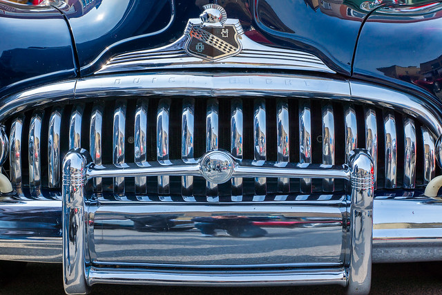 Buick, Buick Eight, Car, Automobile, Auto, Bumper, Grill, Chrome