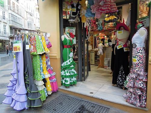 フラメンコ衣装店