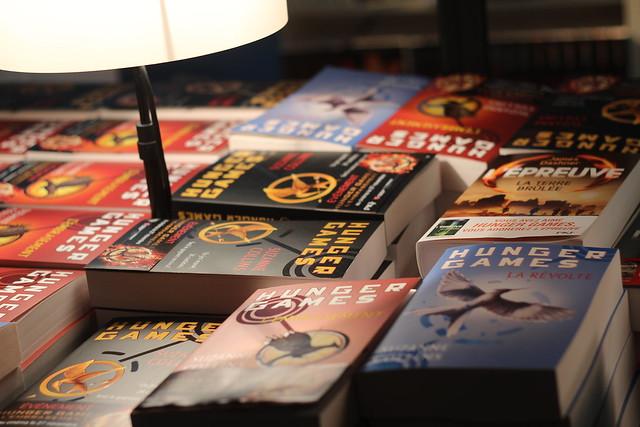 Hunger Games - Salon du Livre et de la Presse Jeunesse à Montreuil (2013)
