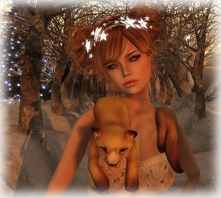 .::Davi Designs::. Bohemian Creme Dream Outfit close up
