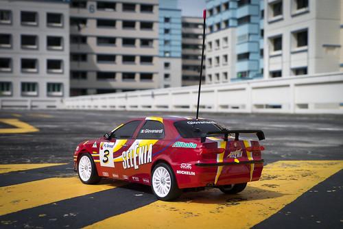 Tamiya FF02 Alfa Romeo 156 Racing 11248574563_7dd124ffc2
