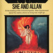 Ballantine Books 27449 - H. Rider Haggard - She and Allan