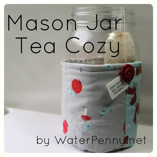 Mason Jar Tea Cozy
