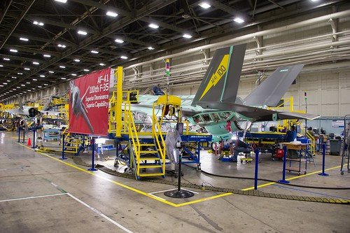 100th F-35 in Final Assembly