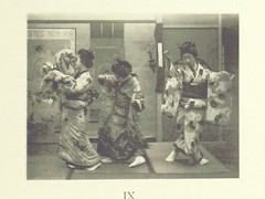 """British Library digitised image from page 295 of """"Ayame-San. A Japanese romance of the 23rd year of Meiji (1890) ... Illustrated from photographs by W. K. Burton, etc"""""""
