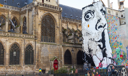 Jef Aérosol, Paris Street art
