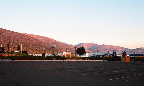 sunrise geotagged kodak portra400 nikonf4s carsoncitynv nikkor35mmƒ2afd