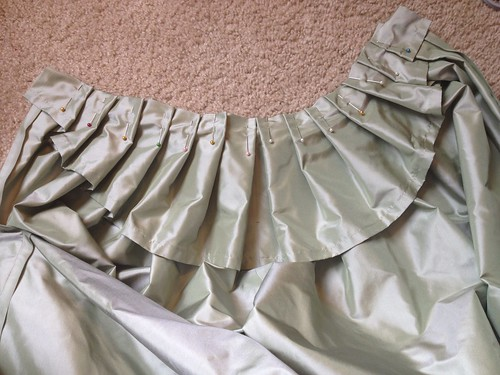 Petticoat Pleating