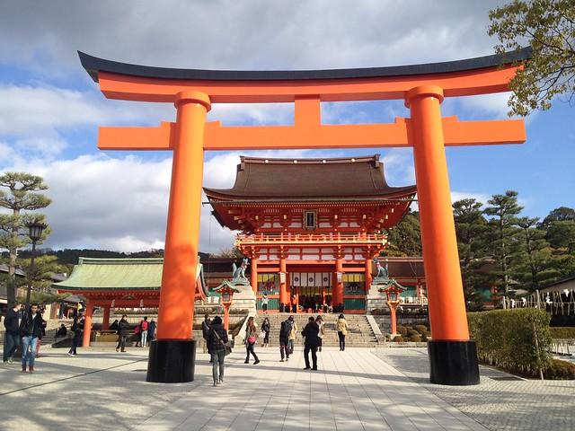 伏見稲荷大社 桜門