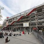 The front of Le Centre Pompidou