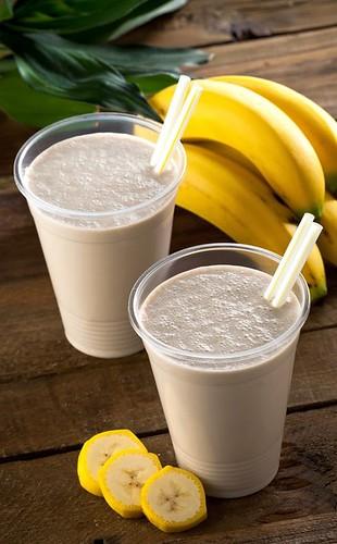 Healthy Creamy Banana Smoothie