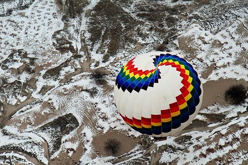 turkey türkei cappadocia göreme hotairballon heissluftballon wernerboehm kappadiókien