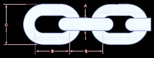 Short Link Chain - Mild Steel