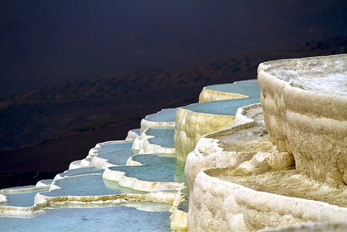 Natural Pools in Pamukkale [Explore]