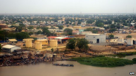 Malakal in South Sudan on east bank of the Nile River. Reports indicate that 200 people drowned trying to escape fighting. by Pan-African News Wire File Photos