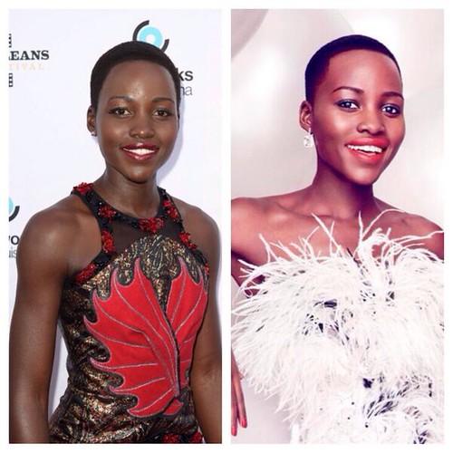 Vanity Fair lighten Lupita Nyong'o's skin