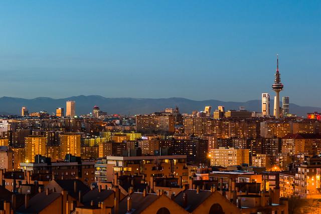 Vistas de Madrid desde el cerro del Tío Pío