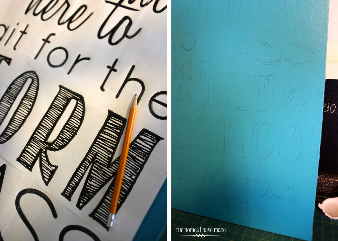 How To DIY Subway Art WithOUT An E Cutter