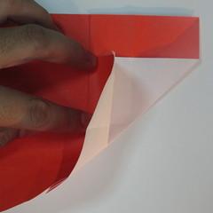 วิธีพับกระดาษพับดอกกุหลาบ 029