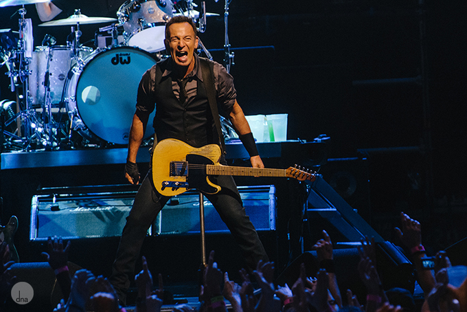 Bruce Springsteen concert Velodrome Bellville Cape Town 26 January 2014 shot by Desmond Louw dna photographers 23