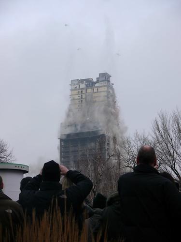 Sprengung AFE-Turm, Bild vom Lebensabschnittsgefährten