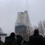 Sprengung AfE-Turm