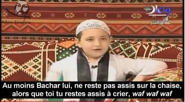 Jabir, le fils du cheikh Adnan Arour