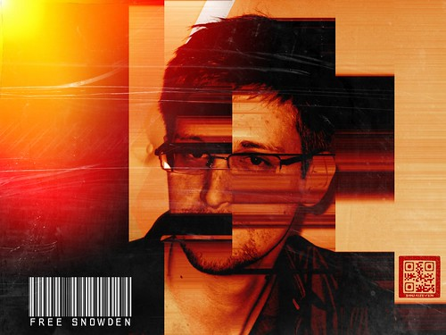 FREE SNOWDEN by WilliamBanzai7/Colonel Flick