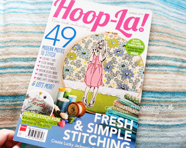 In Hoop-La! magazine