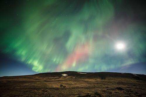 Auroras & Full Moon