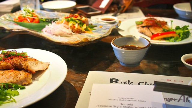 Wingtat Akakuro-Buta Pork | Kingyo Izakaya @ Vancouver, BC