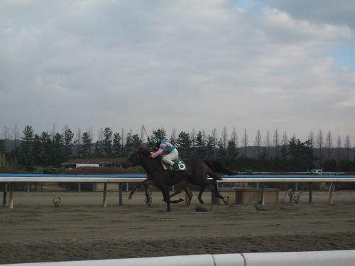 金沢競馬場の江下英昭元騎手