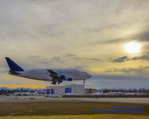 plane sunrise airplane aircraft aviation cargo hdr jetliner jetliners cargoaircraft n747bc 747lcf dreamlifter cameratype fz70 dynamicart 747dreamlifter boeing747dreamlifter dynamicarthdr panasoniclumixdmcfz70 agf14 panasoniclumixdmcfz70fz70