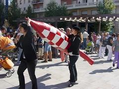 Espectacle del Tintín a Valls