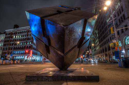Alamo, The Astor Place Cube
