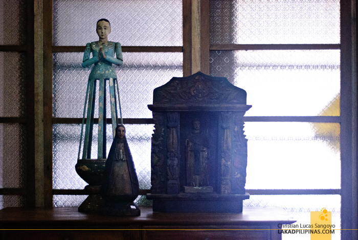 Antiques at Camina Balay Nga Bato Ancestral House in Iloilo City