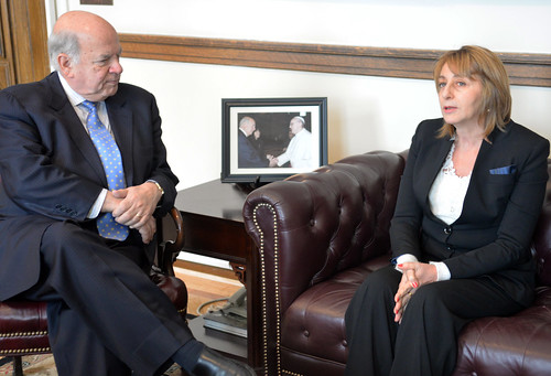 Secretary General Receives the Attorney General of Argentina