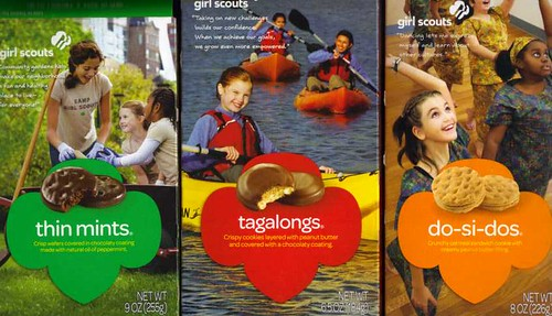 Girl Scout Cookies favorites