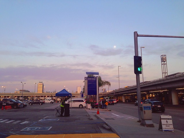 Dusk at LAX