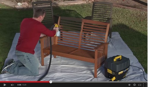 The sprayer is lighter and ideal for bigger projects. (Click on image to view video)