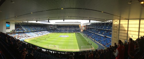 Ibrox - Rangers v Dundee United Scottish Cup Semi-Final Panorma