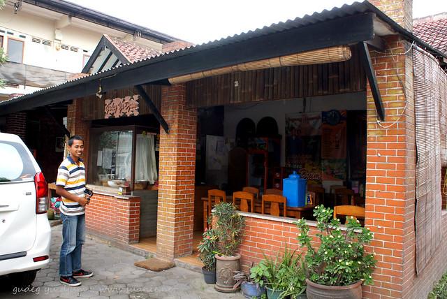 Nasi Gudeg Yu Djum, Yogyakarta - small shop