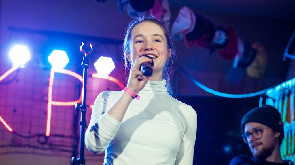 Sigrid hos Christine på by:Larm 2017